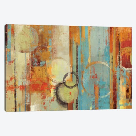 Beach Wood Canvas Print #TOR22} by Tom Reeves Canvas Print