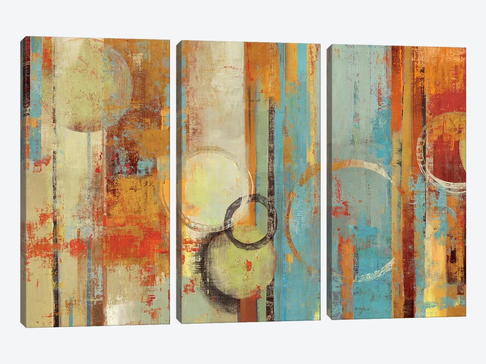 Beach Wood by Tom Reeves 3-piece Art Print