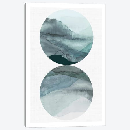 Earth Landscape 3-Piece Canvas #TOR235} by Tom Reeves Canvas Print