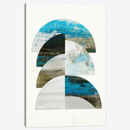 Geometric Tide I Canvas Print #TOR238} by Tom Reeves Canvas Artwork