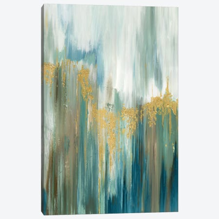 Misty Drip II Canvas Print #TOR244} by Tom Reeves Canvas Art