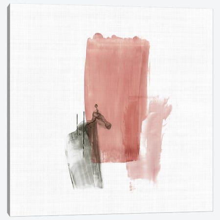 Rosy Tint I Canvas Print #TOR245} by Tom Reeves Canvas Art