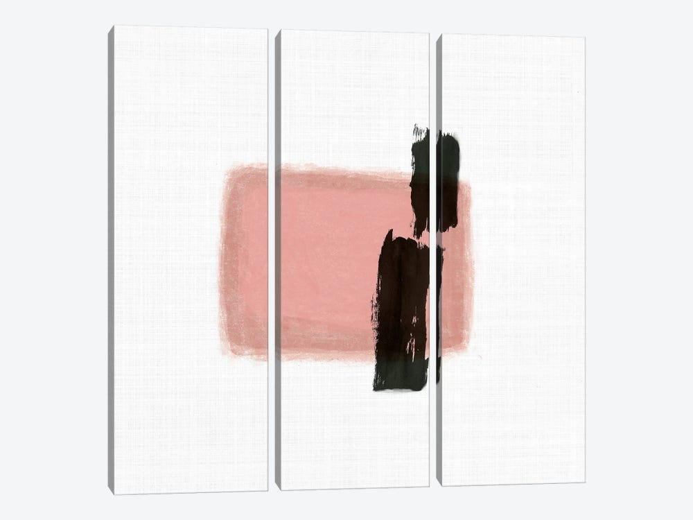 Rosy Tint II by Tom Reeves 3-piece Canvas Wall Art