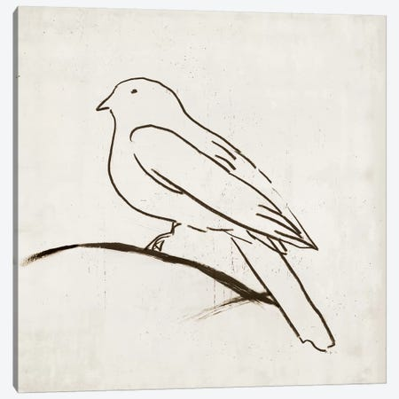 Bird I Canvas Print #TOR25} by Tom Reeves Canvas Art