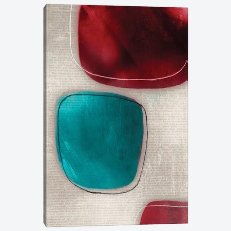 Cherry Shades I Canvas Print #TOR29} by Tom Reeves Canvas Print