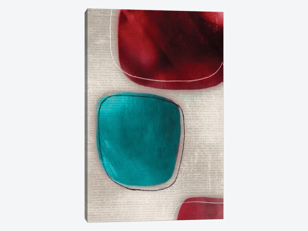 Cherry Shades I by Tom Reeves 1-piece Canvas Wall Art