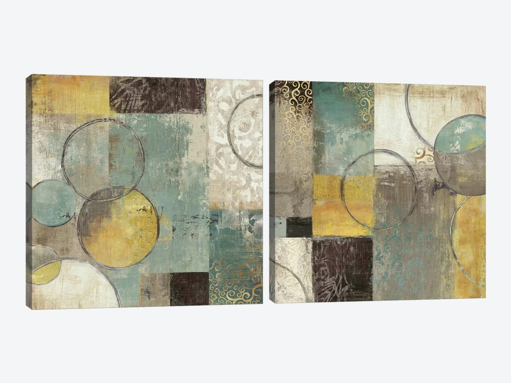 Peace Of Mind Diptych by Tom Reeves 2-piece Canvas Print