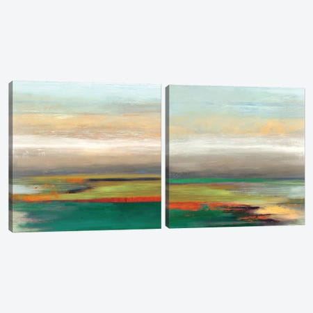 Tribute Diptych Canvas Print Set #TOR2HSET005} by Tom Reeves Canvas Art Print