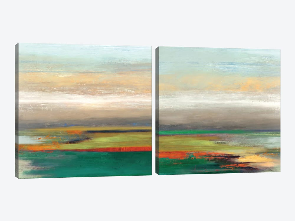 Tribute Diptych by Tom Reeves 2-piece Canvas Artwork