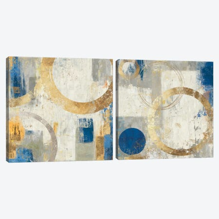 Tune Diptych Canvas Print Set #TOR2HSET006} by Tom Reeves Canvas Print