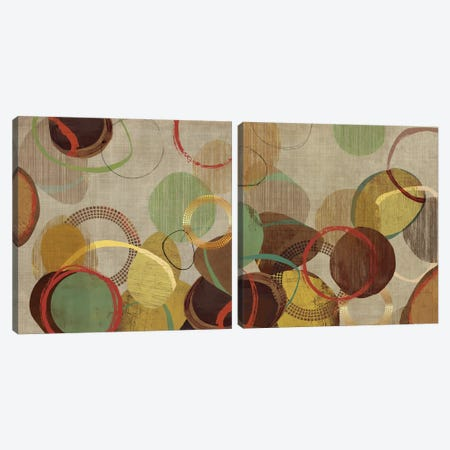 Crash Diptych Canvas Print Set #TOR2HSET008} by Tom Reeves Canvas Artwork