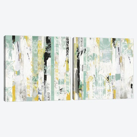 Spring Diptych Canvas Print Set #TOR2HSET013} by Tom Reeves Art Print