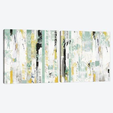 Spring Diptych Canvas Print Set #TOR2HSET013} by Tom Reeves Art Print
