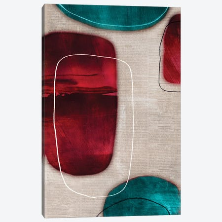 Cherry Shades II Canvas Print #TOR30} by Tom Reeves Canvas Art