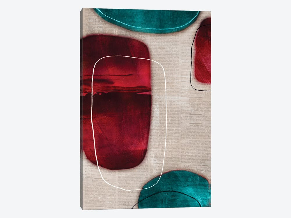 Cherry Shades II 1-piece Canvas Wall Art