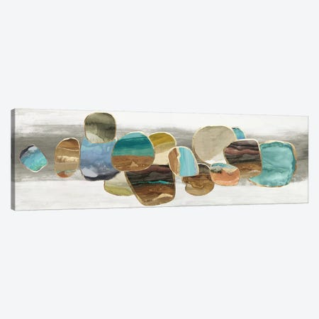Glided Stones I  Canvas Print #TOR313} by Tom Reeves Canvas Print