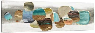 Glided Stones I  Canvas Art Print