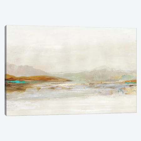 Lake in the Fog  Canvas Print #TOR320} by Tom Reeves Canvas Artwork