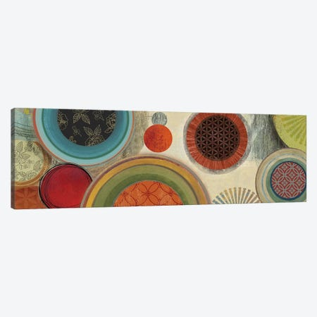 Commotion I Canvas Print #TOR32} by Tom Reeves Canvas Wall Art