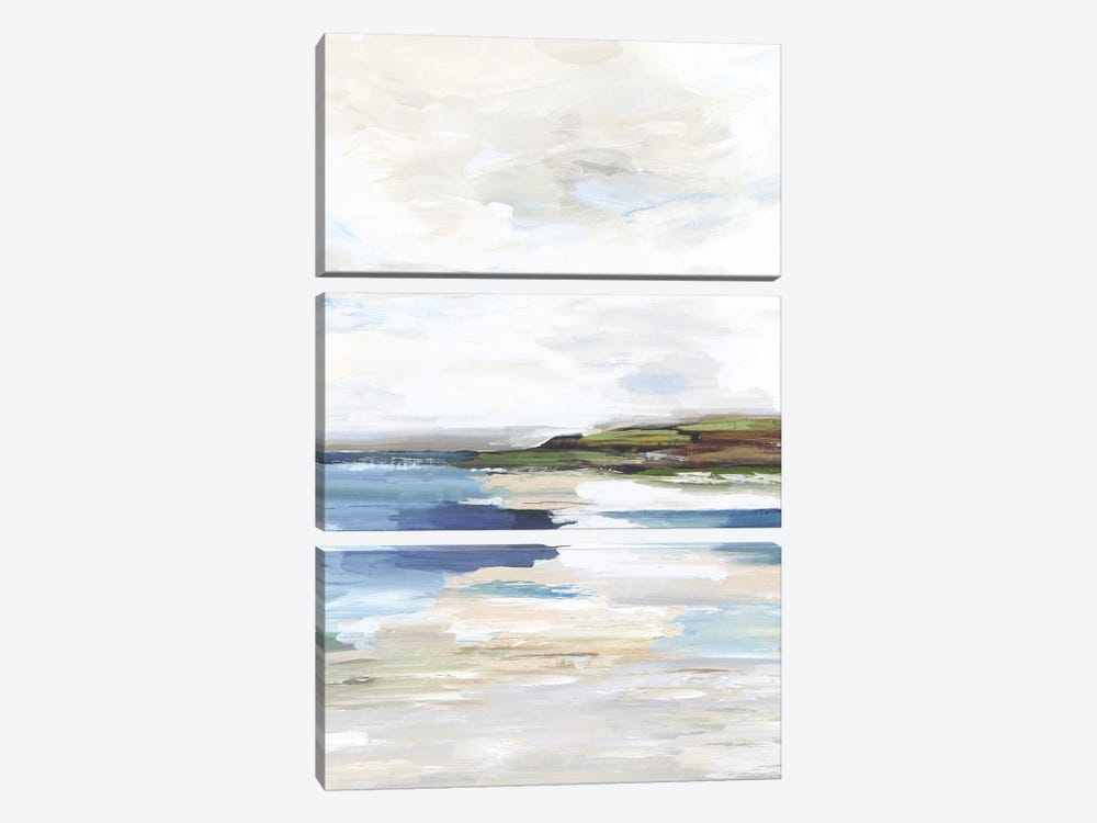 Distant Lands I by Tom Reeves 3-piece Canvas Art Print
