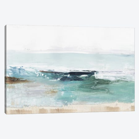Emerald Waters Canvas Print #TOR348} by Tom Reeves Canvas Artwork