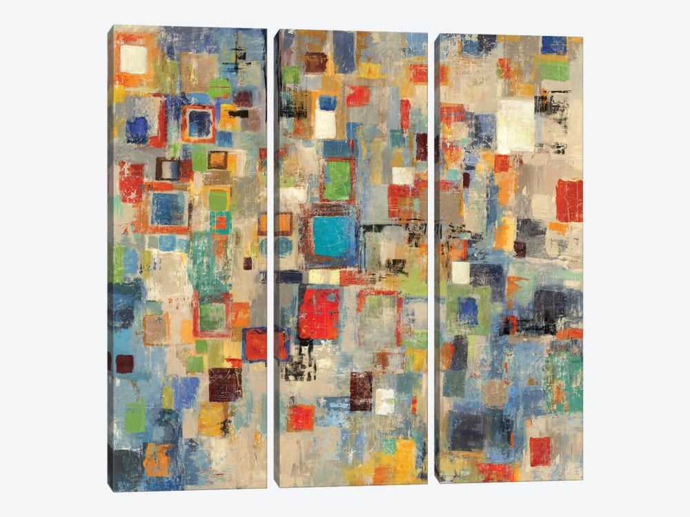 Complexity by Tom Reeves 3-piece Canvas Artwork