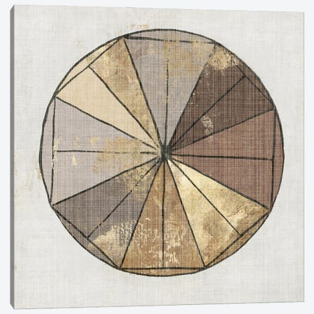 Golden Charm Canvas Print #TOR360} by Tom Reeves Canvas Artwork