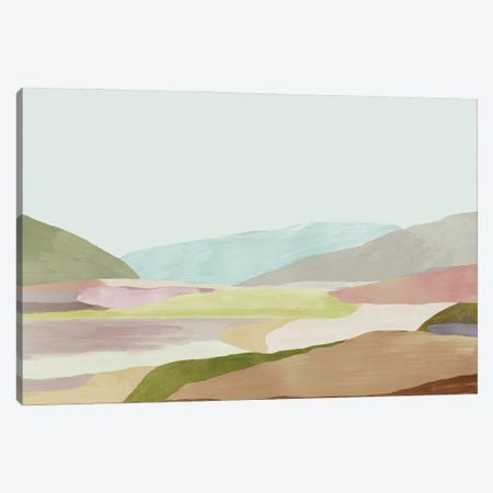 Hills of Light I Canvas Print #TOR361} by Tom Reeves Canvas Artwork