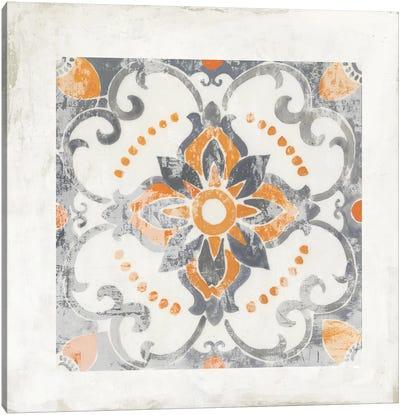 Moroccan Coral II Canvas Art Print