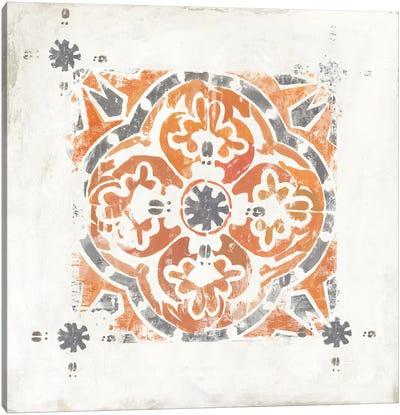 Moroccan Coral V Canvas Art Print