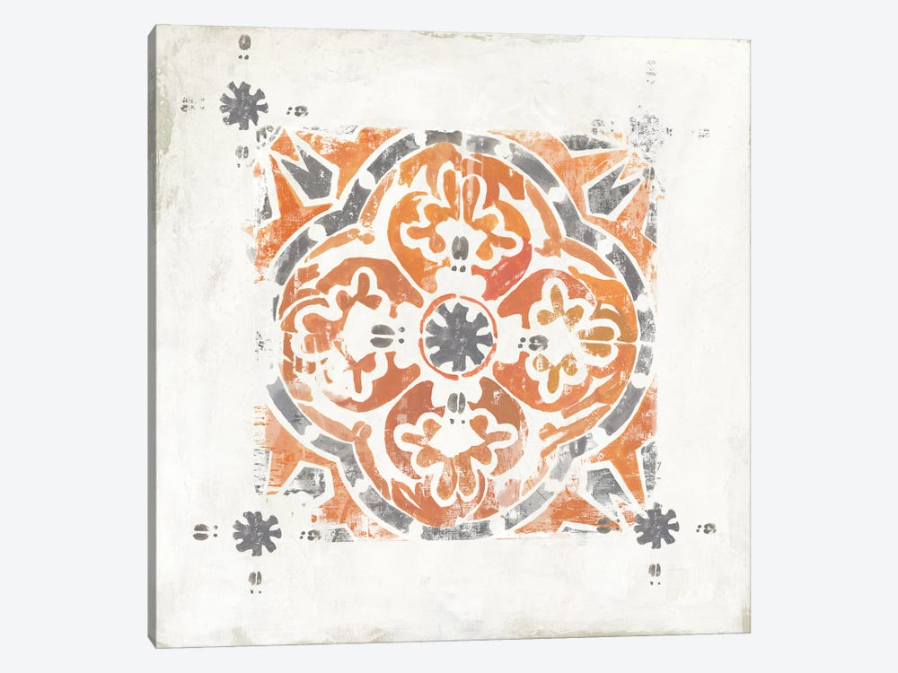 Moroccan Coral V by Tom Reeves 1-piece Canvas Wall Art