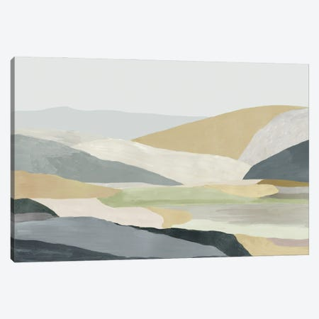 Warm Hills I Canvas Print #TOR376} by Tom Reeves Canvas Artwork