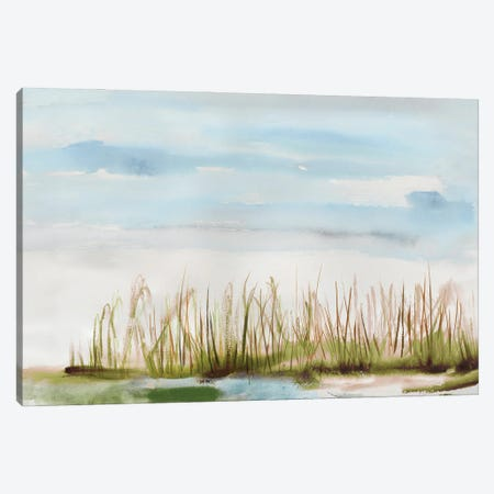 Watercolor Landscape Canvas Print #TOR378} by Tom Reeves Canvas Art Print
