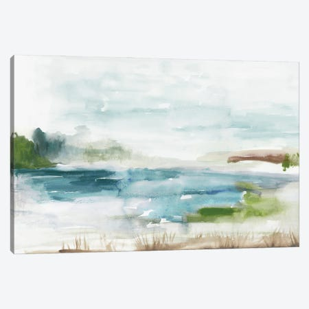 Watery Land Canvas Print #TOR379} by Tom Reeves Canvas Print