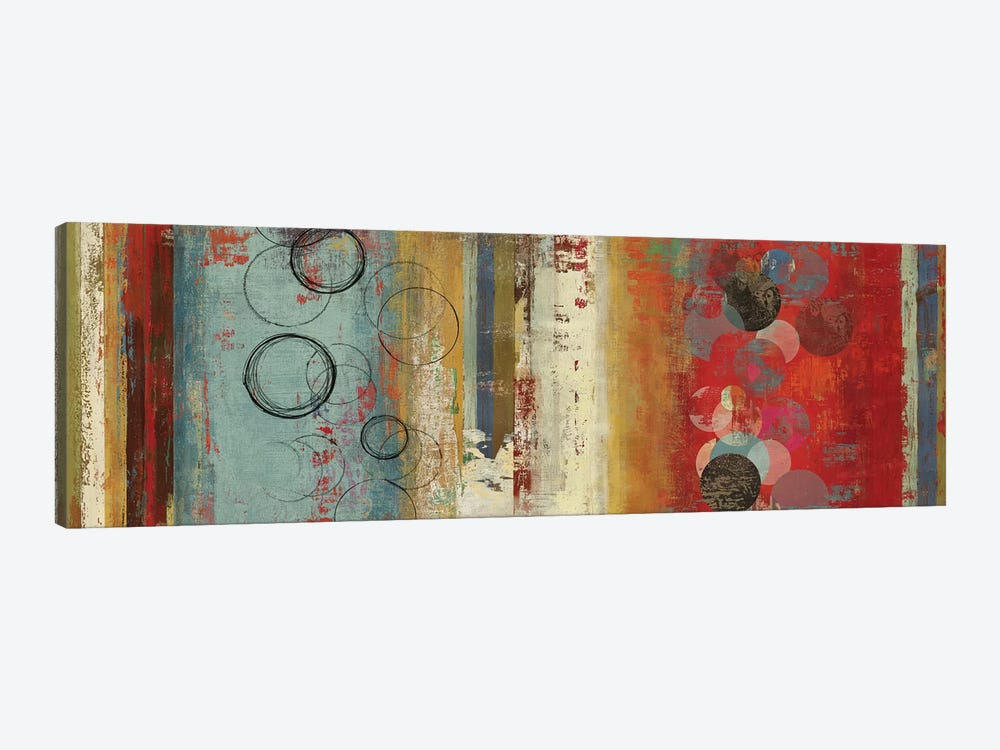 Field Of Blue Abstract by Tom Reeves 1-piece Canvas Art
