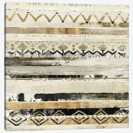 African Patchwork II Canvas Print #TOR4} by Tom Reeves Canvas Art