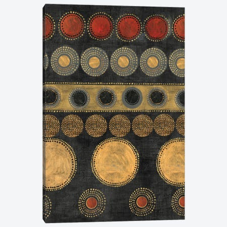 Gold Rings Canvas Print #TOR52} by Tom Reeves Canvas Art