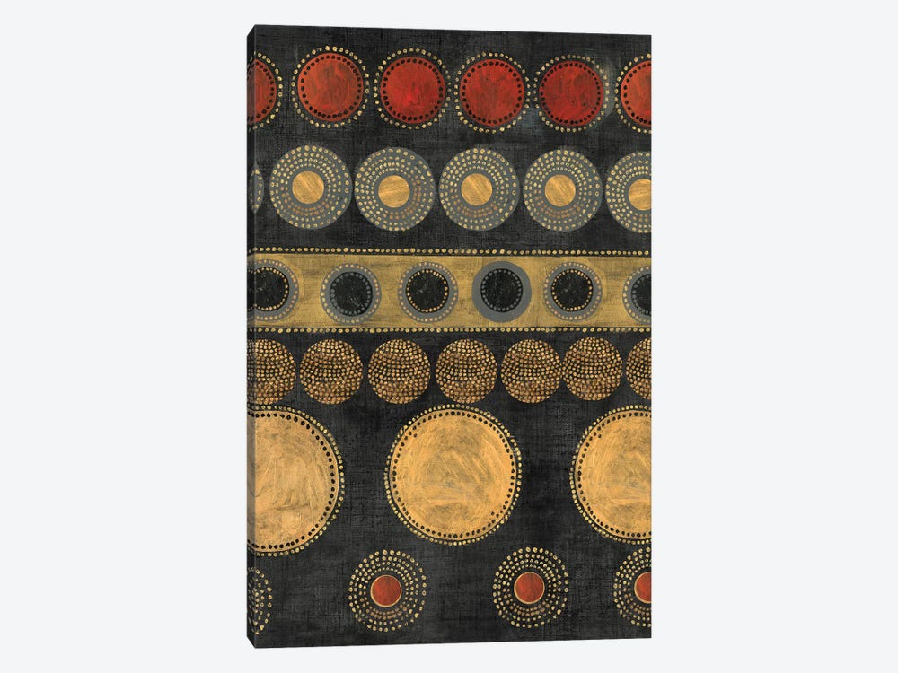 Gold Rings by Tom Reeves 1-piece Canvas Art