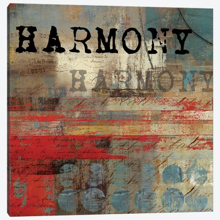 Harmony Canvas Print #TOR53} by Tom Reeves Canvas Wall Art