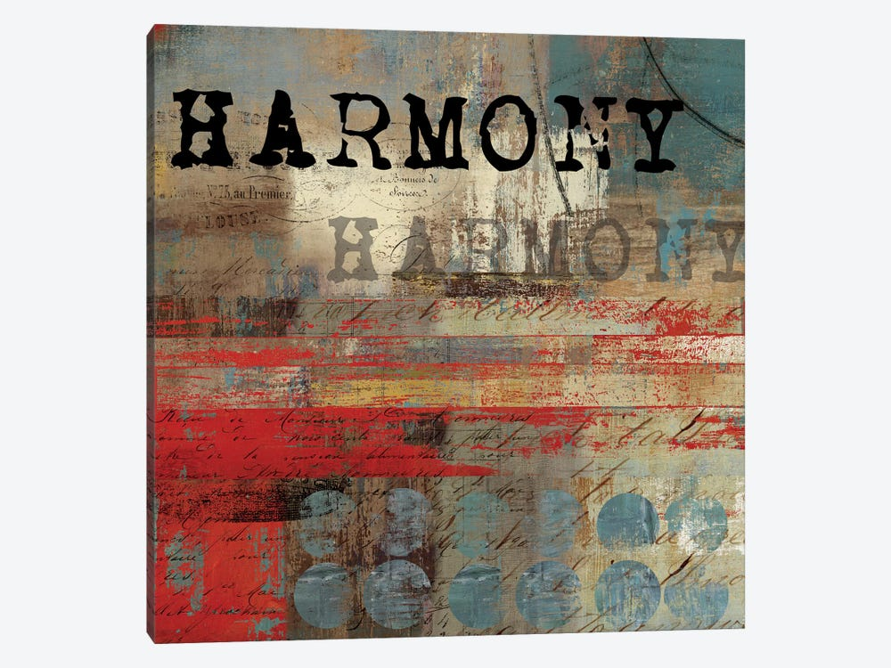 Harmony by Tom Reeves 1-piece Canvas Art Print