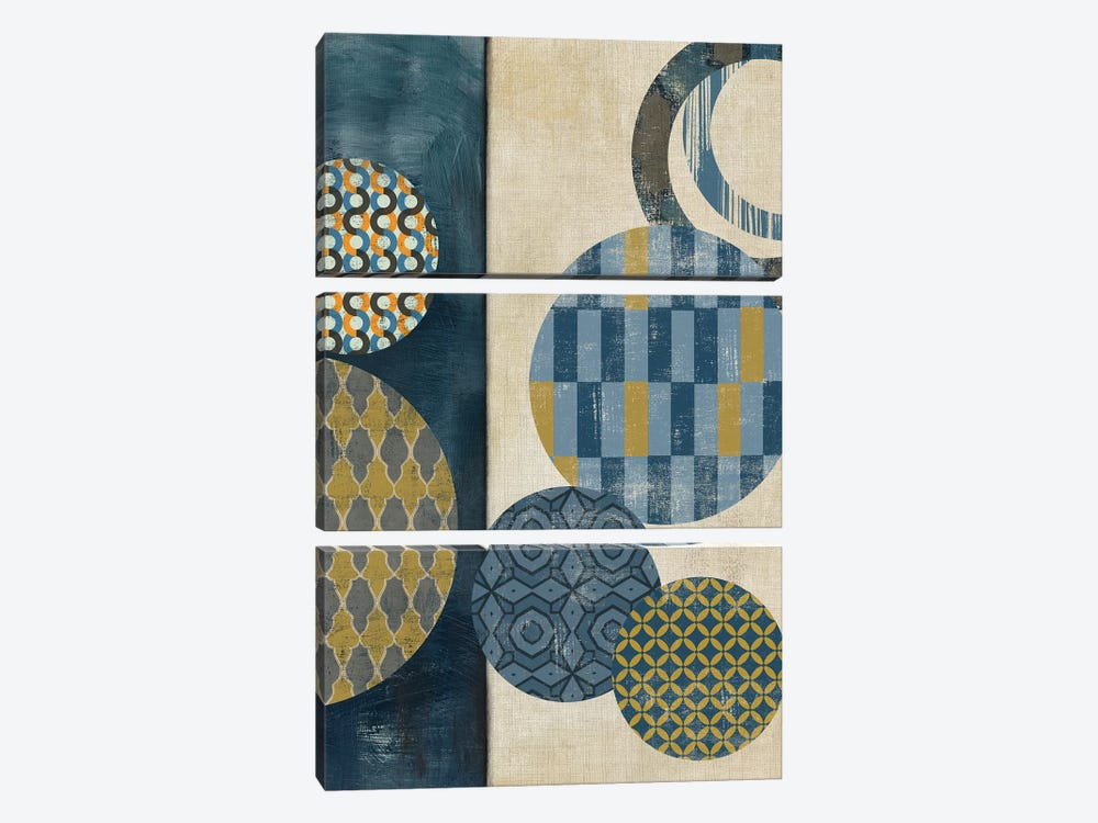 Harmony I by Tom Reeves 3-piece Canvas Art