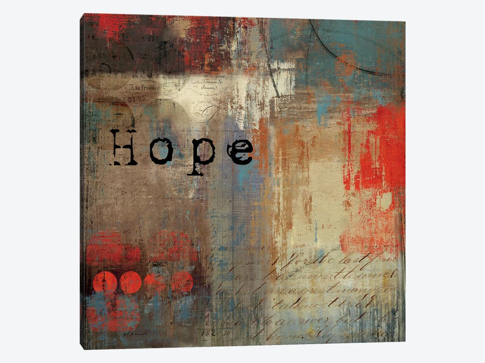 Hope by Tom Reeves 1-piece Canvas Wall Art