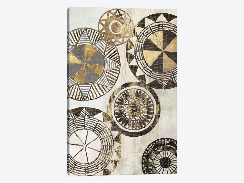 African Rings I by Tom Reeves 1-piece Canvas Art