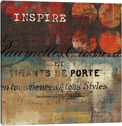 Inspire Canvas Art Print