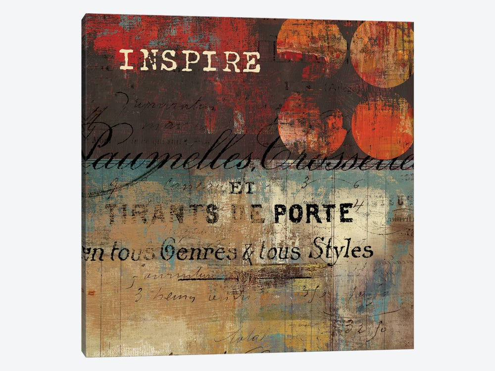 Inspire by Tom Reeves 1-piece Canvas Wall Art