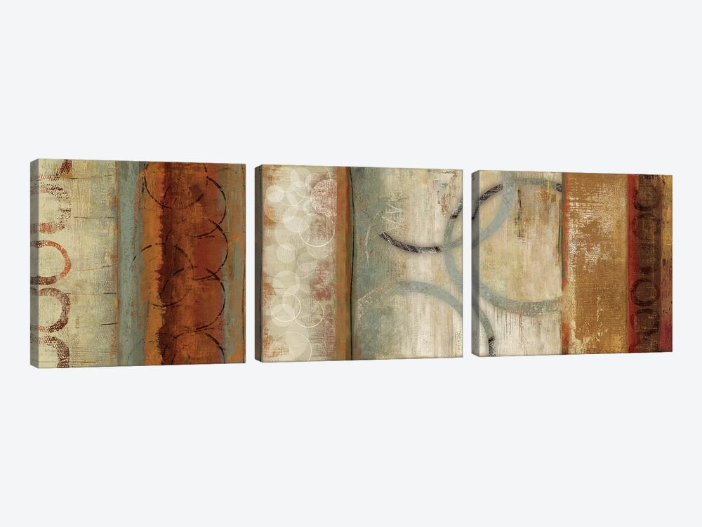 Juncture II by Tom Reeves 3-piece Art Print