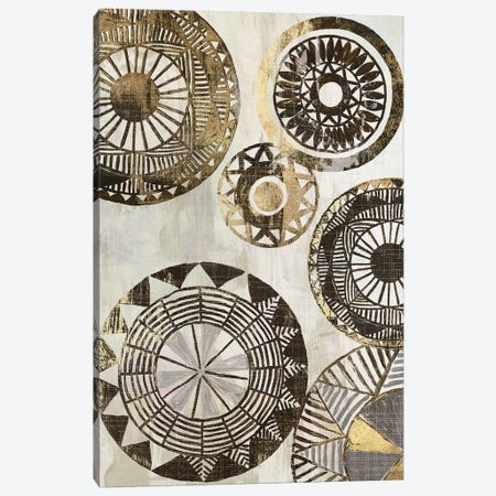 African Rings II Canvas Print #TOR6} by Tom Reeves Canvas Art