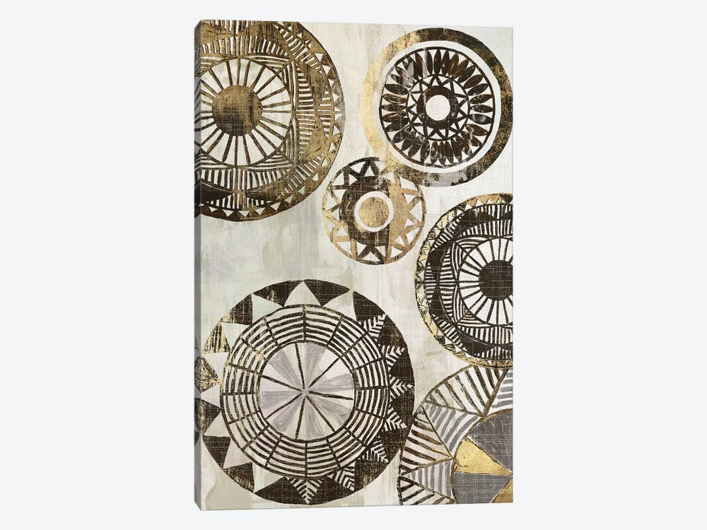African Rings II by Tom Reeves 1-piece Canvas Print