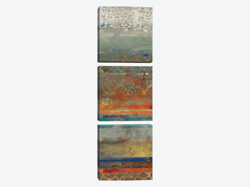 Lace Abstract I by Tom Reeves 3-piece Canvas Art