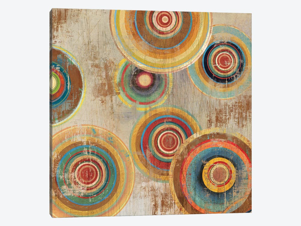 Living Colours I by Tom Reeves 1-piece Canvas Art
